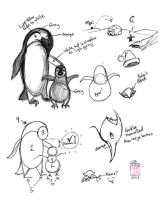 Draw a Penguin part 1 by Diana-Huang