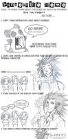 FFVII CC Doodle: Art MeMe by dizziness