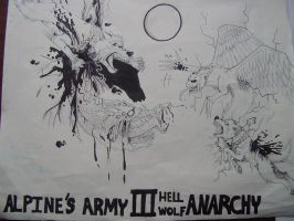 A.A 3 PROMO poster INKED by SamColwell