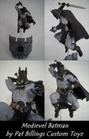 Custom Medieval Batman figure by usn1