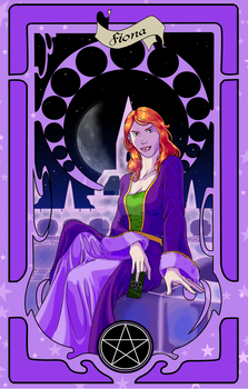 Trumps of Amber - Fiona by Tergiversatory-Proxy