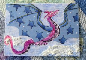 Starry Wings ATC by NycterisA