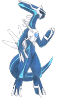 Anthro Dialga by HarolTheDragon