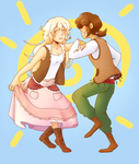 fe6: bright angels dancing by Whoodles