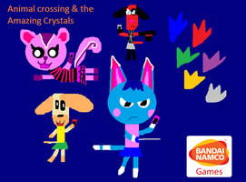 Animal Crossing and the Amazing Crystals by carmenramcat