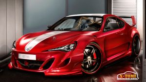 Toyota GT-86 by x-tomi