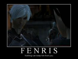 Fenris  Demotivational by StrawberryL