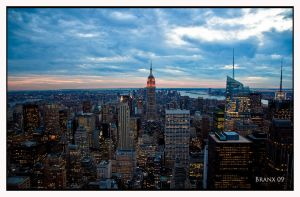 ESB via Top of the Rock by tigerjet
