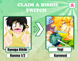 Claim a Bishie Switch Card. by VAL0VE