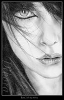 Half woman face by nabey
