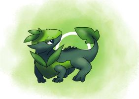 Grass Starter Evo by ShinyGazza