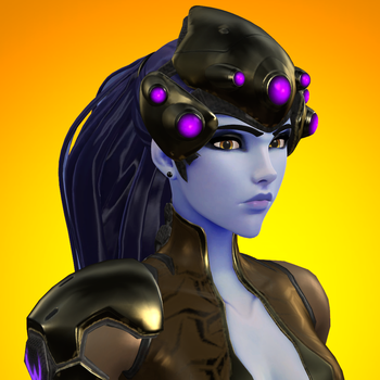 [SFM] Widowmaker icon (Patina Outfit) by red4567-2