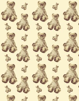Teddy Bear wrapping paper by carenvisser