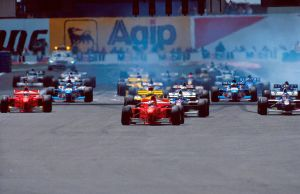 1997 French Grand Prix Start by F1-history