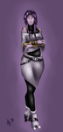 Tali Zorah without a suit by Kiyoykin