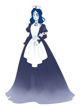 (DND char) Florence Nightingshade by Howlie-z