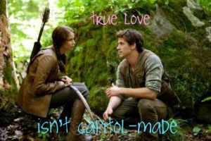 Katniss + Gale OFFICIAL SHOT by simplyeffortless