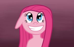 Pinkamena Delighted by Penguin-Potential