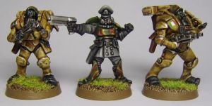 Captain Volpe and Paratroopers by FraterSINISTER
