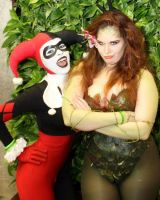 Harley and Ivy - Bunny Ears by Enasni-V