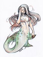 Mermaid Sketch  by jaisamp