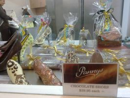 Chocolate Shoes by starsoftrinity