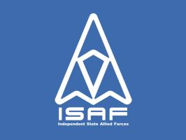 ISAF Logo Wallpaper by Aircraftkiller