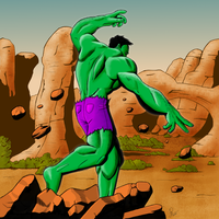 The Incredible Hulk by viral-reject