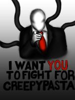 Slenderman Speaking Out by Airtard623
