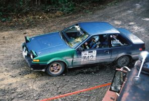 Adam Crane's AE86 at DooWop by qmorley