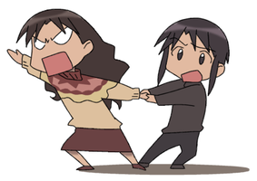 Teacher Vs. Teacher by AzumangaDaiohFans