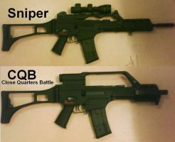 Airsoft sniper and CQB by Nabonidus
