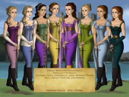 Disney Warrior Princesses 2 by nickelbackloverxoxox