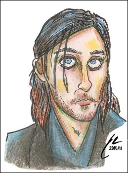 30STM Playing Cards (Art) - Jared Leto 01 by omgwtflols