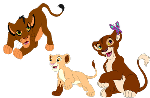 Cubs for silvermoon66 by horse-power