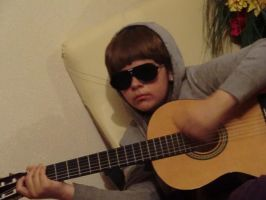 Justin Bieber in my house by juliafreeze