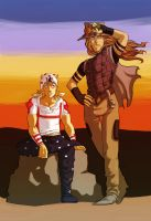 jojo - gyro and johnny by spoonybards