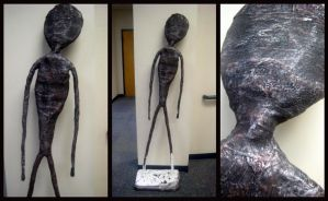 Life Size Sculpture by BookWizard