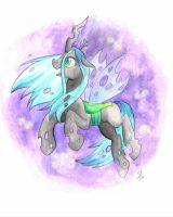 Chrysalis Watercolor by HelicityPoni