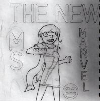 The New Ms Marvel by mr-grump