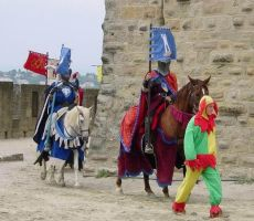 Parade in Carcassonne 2 by chavi-dragon