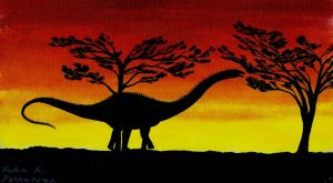 Apatosaurus (Featured in Summer 2015 PT magazine) by Tyrannosaur17