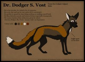 Dr. Dodger S. Vost reference by VulpesObscurus