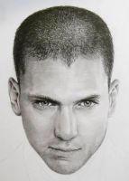 Wentworth Miller Close Up by LochaSnejpa