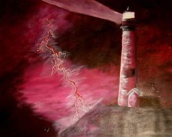 Lighthouses in Hell? by Acrylic-Key-128