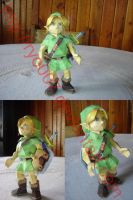 Young Link Papercraft by ryo007