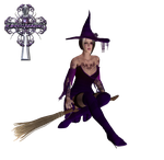 witch purple by sweetpoison67