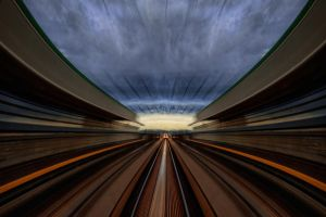 Swallowed Skytrain by Coltography