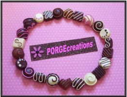 Chocolate Necklace... by PORGEcreations