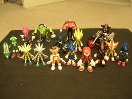 My Sonic Jazwares Collection by ToaAntan